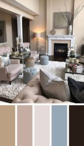 Best living room colors 172x300 - Интерьер и дизайн.